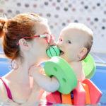 Plavání kojenců Lom