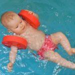 Plavání kojenců Lom u Mostu